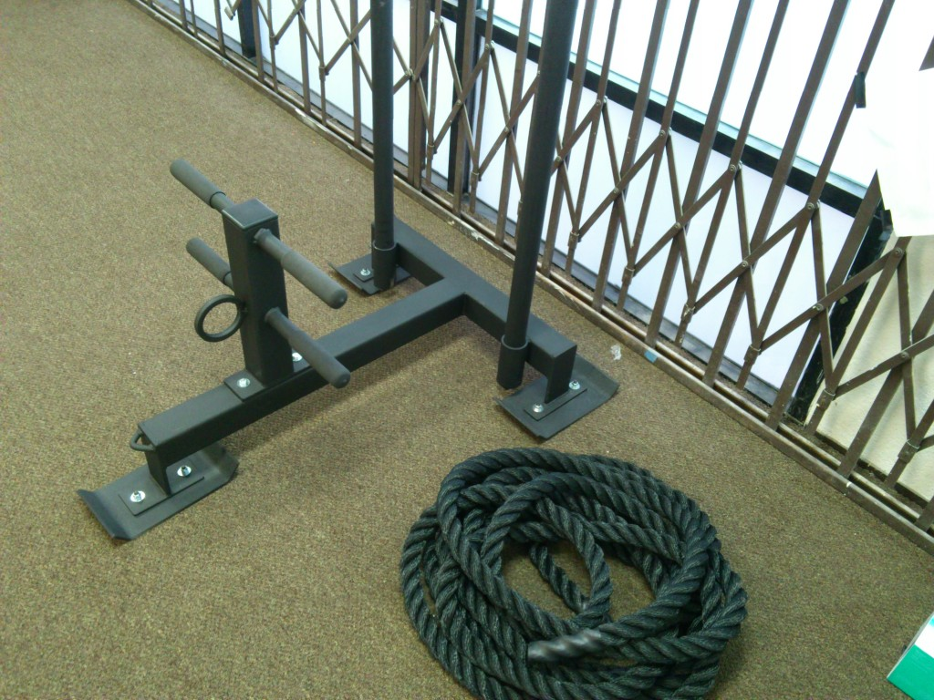 Weight Sled / Battle Rope